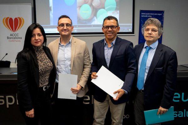 """Acuerdo junto a la fundación Carme Chacón y la fundación """"Seguimos con más"""""""