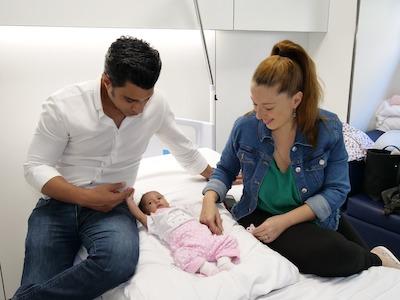 Rebeca necesitaba una operación urgente para salvar su corazón